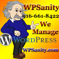 WordPress Maintenance Sacramento